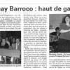 Semaine des Arts 2011 - Paraguay Barroco