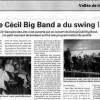 Semaine des Arts 2011 - Swing Cécil Big Band